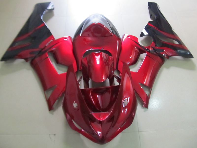 Top-selling plastic fairing kit for Kawasaki ninja ZX6R 05 06 wine red motorcycle fairings set ZX6R 2005 2006 HN38 abs plastic fairings for kawasaki ninja zx6r 2005 2006 green black motorcycle fairing kit zx6r 05 06 ty32