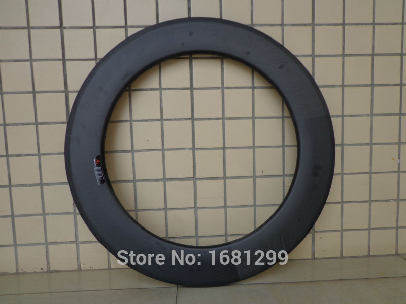 1Pcs New 700C 88mm clincher rim Track Fixed Gear Road bicycle matte UD full carbon bike wheels rims 20.5 23 25mm width Free ship no brake farsport fsl88 cm 23 clincher 88mm 23mm track bike carbon bike wheel rim 88 high profile 88mm carbon track bicycle rim