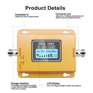 Image 2 - Impulsionador de lcd lte 1800, móvel com display de lcd, 2g/4g lte, dcs 1800mhz amplificador de telefone gsm, impulsionador de sinal