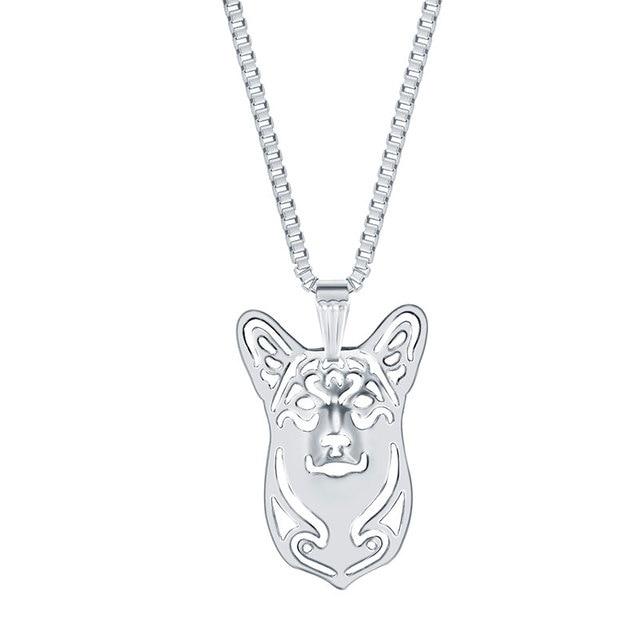 Pembroke welsh corgi necklace dog pendant necklaces animal charm new pembroke welsh corgi necklace dog pendant necklaces animal charm new year gifts for dog lovers women mozeypictures Gallery