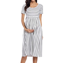 Сексуальные Платья для беременных женщин Повседневное платье для будущих мам ropa premama embarazadas hamile elbise Одежда для беременных# G68