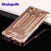 Для Xiaomi Ми 5 Случая Роскошные Аксессуары Алюминиевый Металлический Каркас жесткий Броня Противоударный Назад Телефона Чехол Для Xiaomi Макс Случае крышка