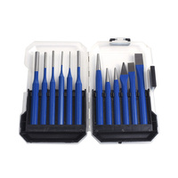 12Pc Rustproof Durable Punch Hole Tool Positioning for Metal Material Daily Use Plastic Material