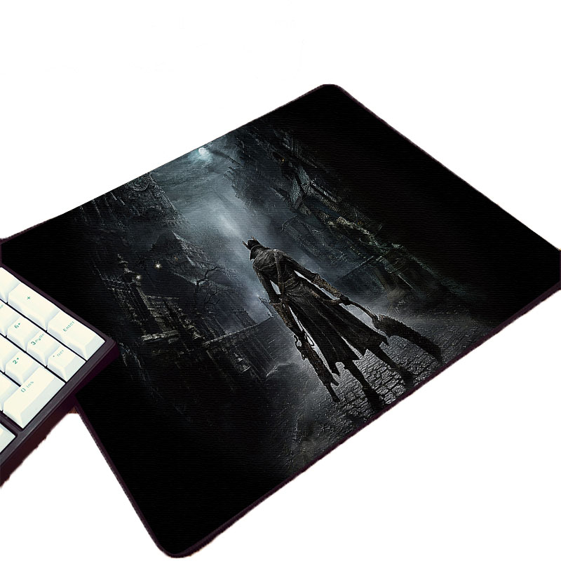 Mairuige Hot Game Bloodborne Horror Cthulhu Style Pattern Pc Computer Mousepad Small Size Table Mouse Pads for Decorate Desktop image