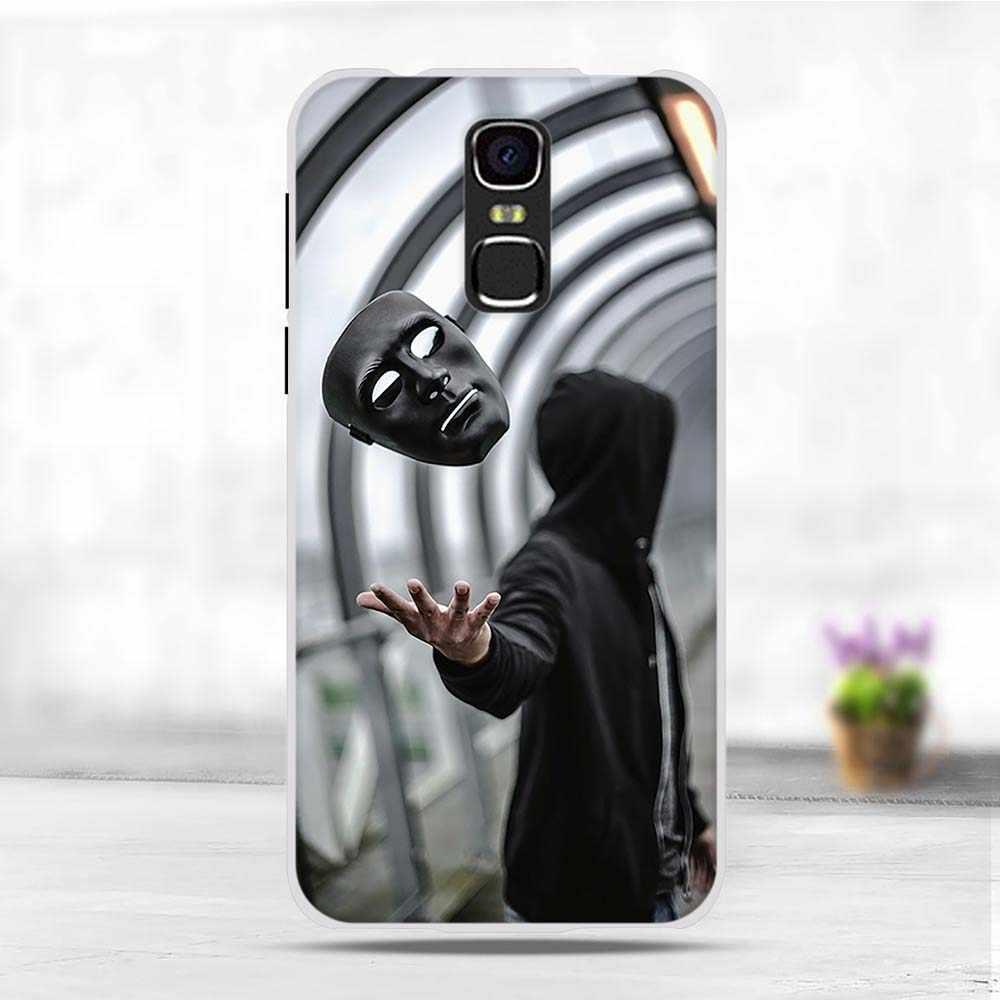 "Telefoon Case Voor BQ mercury 5520 Case Voor BQ 5520 BQS-5520 BQ5520 Cover Silicone Leuke Panited Kat Bloem Dier Shell bumper 5.5"""