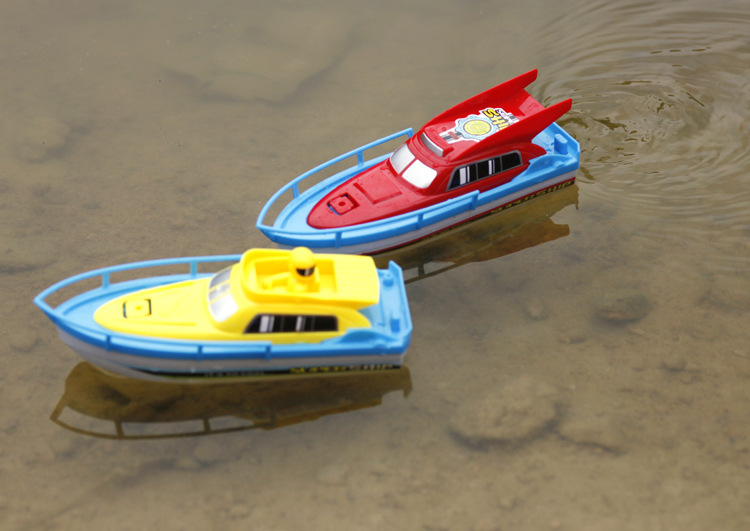 Children's Electric Ship Baby Bath Water Motorboat Swimming Model Toys Electronic Speedboat Plastic > 3 Years Old Boat