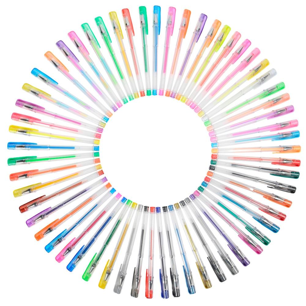 Үлкендерге арналған түрлі-түсті - Қаламдар, қарындаштар және жазба құралдары - фото 2