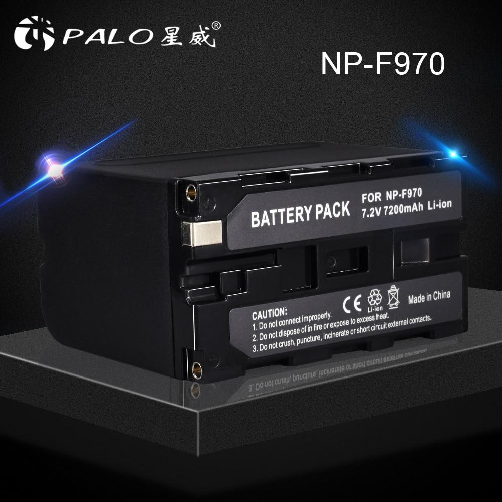 1 Pc Ersatz Li-ion Akku Für Sony 7,2 V 7200 Mah Digitale Akku Np F960 F970 Für Sony Np-f960 Np-f970 Np-f55 NüTzlich FüR äTherisches Medulla Stromquelle
