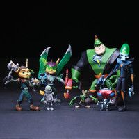 4 style PSP Game Ratchet Clank Future 13cm retail box or not include box Action Figure Toys