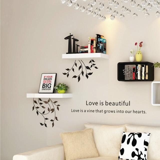 Creativo Mensola A Muro Galleggianti Mensole Pensili per la TV Cabinet Libreria Moderna Rotonda Diaframma Mensole e Scaffali