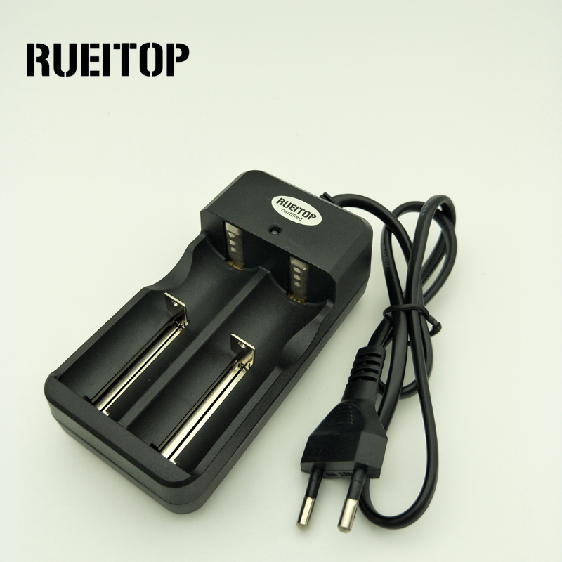 RUEITOP Original Battery Charger Fast Charging for18650 14500 16340 26650 Rechargeable Li-Ion Batteries auto stop chargingRUEITOP Original Battery Charger Fast Charging for18650 14500 16340 26650 Rechargeable Li-Ion Batteries auto stop charging