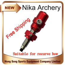 1Pcs Red Color Archery Cushion Plunger Screw On Arrow Rest For Recurve Bow Accessories Archery Arrow Rest Hunter Shoot