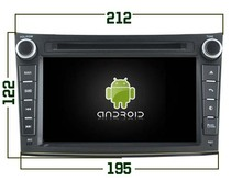 2gb ram Android 6.0 octa Core Car DVD Radio for Subaru Legacy Outback 2008-2013 gps sat navi autoradio head units tape recorder