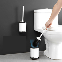 050 Simple toilet cleaning brush with base self-evaporating without water accumulation 10.5*10.5*31cm