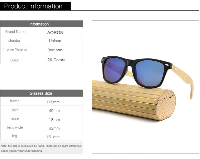 53ef7d923ab7 ... 100% Brand New Eyewear Type: Sunglasses Brand Name:No Polarized: No  Gender: Men and Women Packing List: 1 × Sunglasses