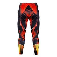 2019 mens casual sports pants gradient Slim style streetwear jogging men
