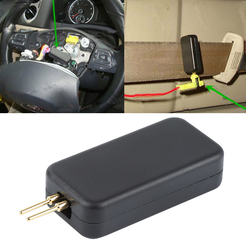 Fault Finding Diagnostic Auto Cars Airbag Simulator Vehicle Air Bag Emulator Bypass SRS Fault Finding Tool Diagnostic Device-in Auto Fastener & Clip from Automobiles & Motorcycles