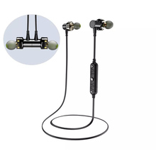 AWEI X660BL Bluetooth Wireless Earphones - 4D Stereo Surround Sound (Black) цена и фото