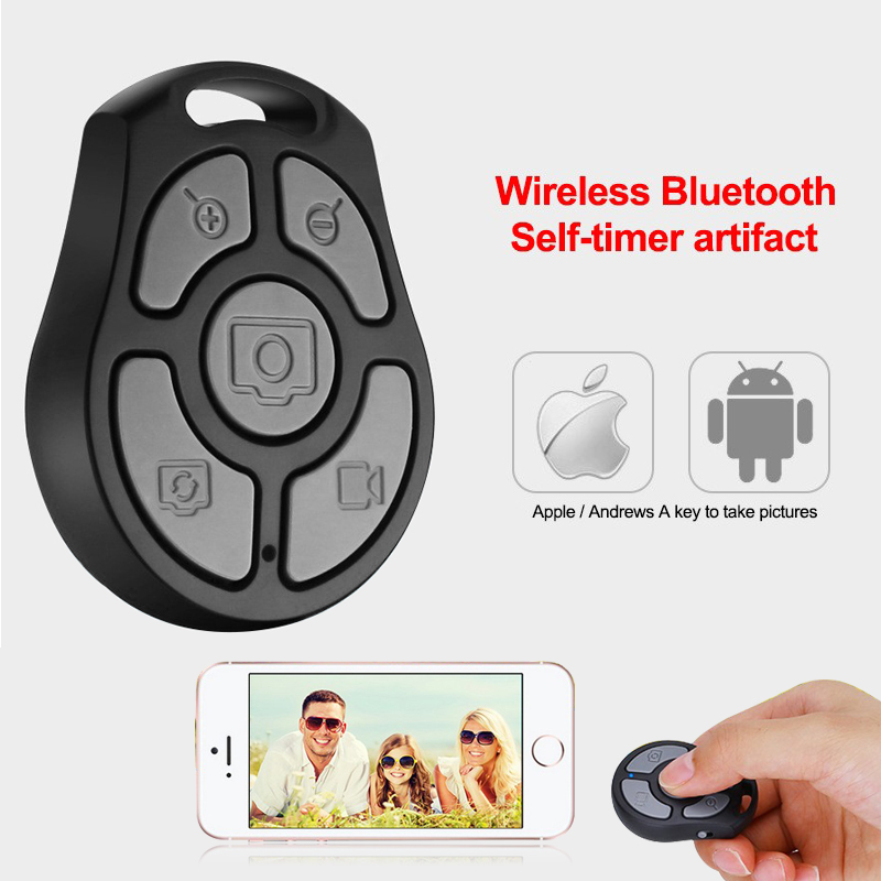 Mini Portable Self timer Wireless Bluetooth Remote Control Shutter for font b iPhone b font font