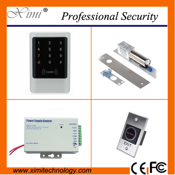 New generation proximity card reader with led keypad standalone access contrrol system 125khz RFID card reader