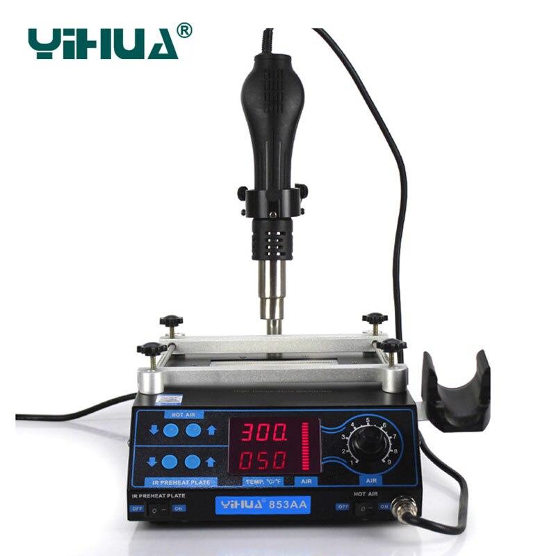 220V / 110V 853AA LCD Calentador electrónico ajustable Pistola de - Equipos de soldadura - foto 4