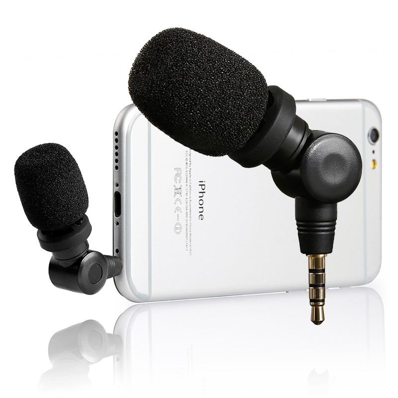 Saramonic SmartMic гибкий конденсаторный микрофон с высокой чувствительностью для IOS iPad iPhone 5/6/7 iPod Touch смартфона