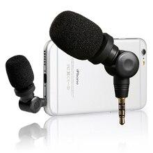 Saramonic Smartmic Linh Hoạt Micro Condenser Mic W/Độ Nhạy Cao Cho IOS iPad iPhone 5/6/7 Ipod Cảm Ứng Điện Thoại Thông Minh