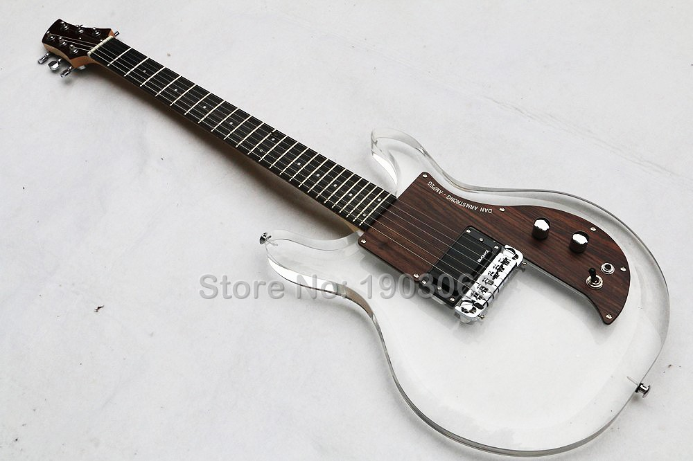 buy top quality new style acrylic crystal electric guitar rosewood fingerboard. Black Bedroom Furniture Sets. Home Design Ideas
