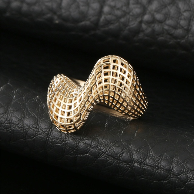 Irregular 3D Geometry Ring3