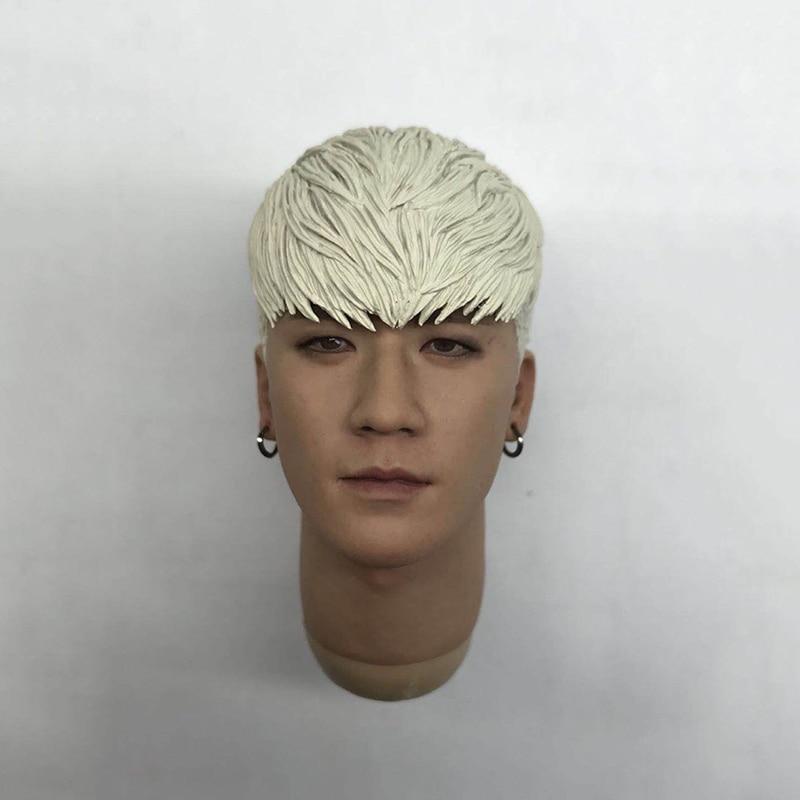 1/6 Scale Korean Famous Star G-Dragon Head Sculpt for 12'' Male Bodies джинсы мужские g star raw 575065 gs g star attacc