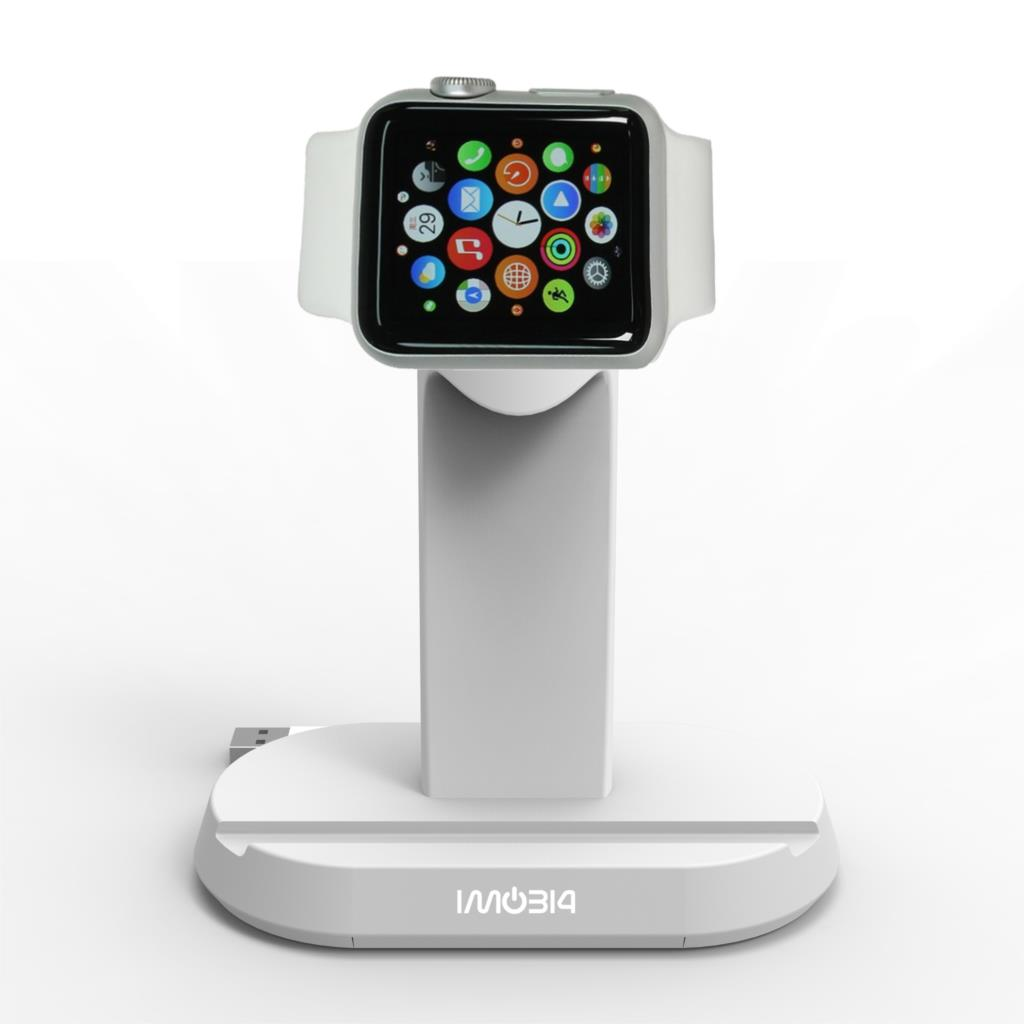 iMobi4 Desktop Charging Dock Mobile Phone Holder Stand for Apple Watch for iPhone 5 6 6S