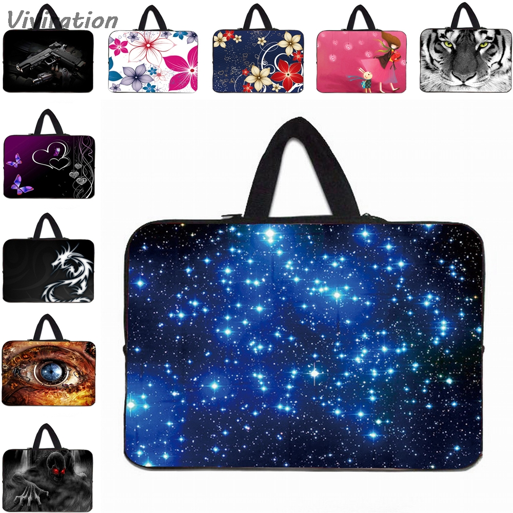 Viviration Universal Women Mens Portable Handle Carry Bag New 10 12 13 14 15 17 Laptop Sleeve Liner Cover Case Pouch Hot
