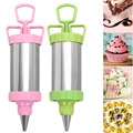 2016 Hot Cake Decorating Tool Stainless Steel Reusable DIY Icing Nozzles Decorating Pen Piping Cream Cooking Tool