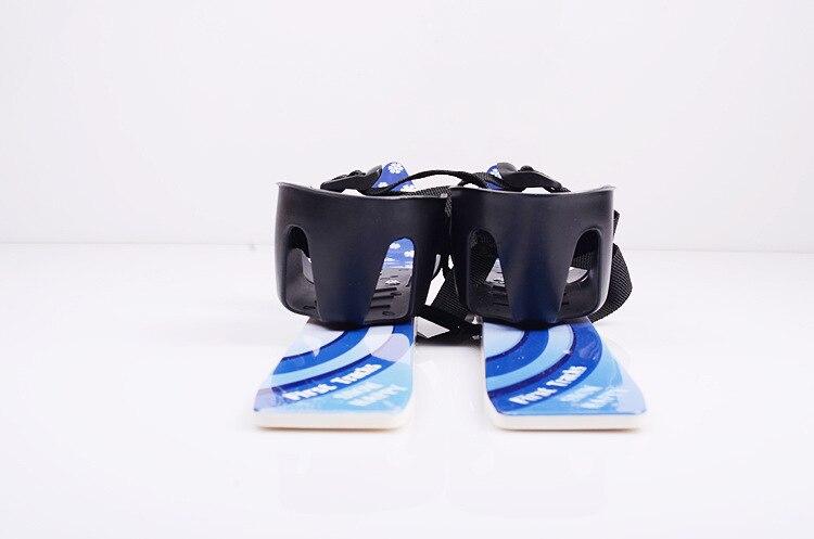 1 pc chine offre spéciale Ski Snowboard avec bâtons de Ski fixations bottes pour Junior enfants enfants débutant - 3