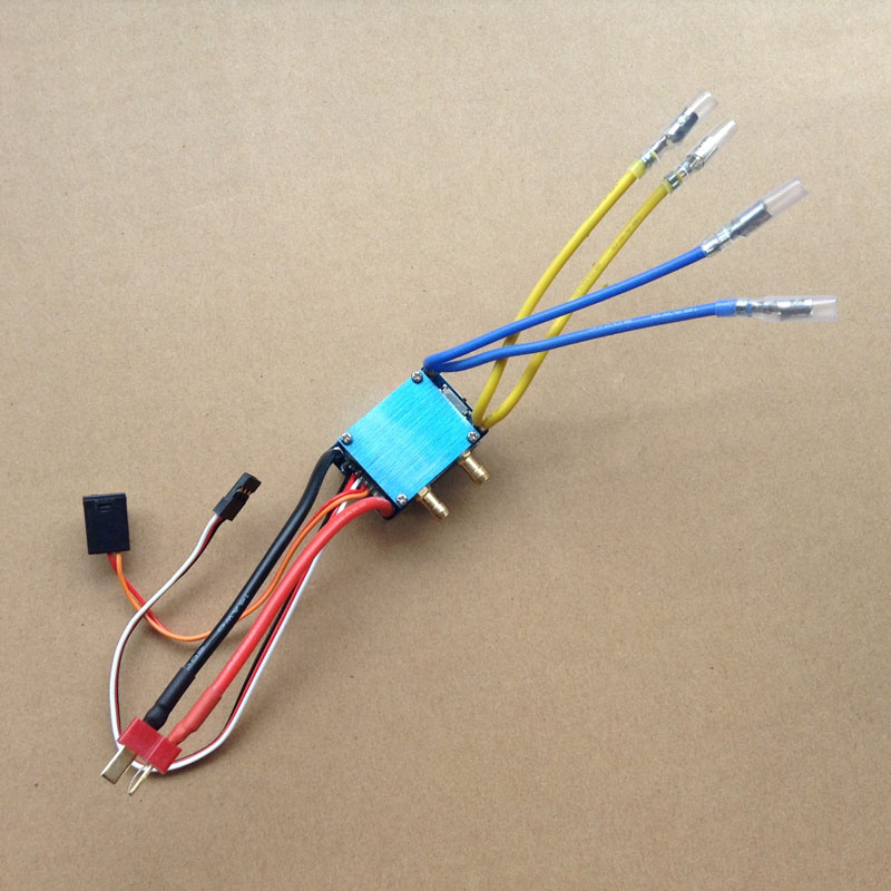 480 Dual Way Brushed ESC Seat for Water Cooling System Waterproof ESC for 550/750 Motor DIY RC Boat Spare Parts