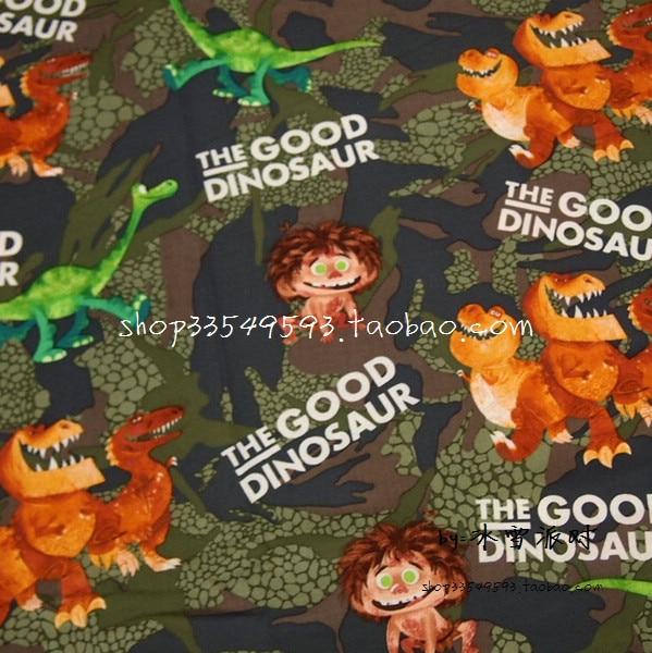 140X100 cm Camouflage Hintergrund Grünen Dinosaurier Baumwolle Stoff ...