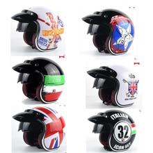National flag design motorcycle helmet male women's personality four seasons safety helmet Captain America Casco de la motocicle