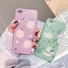 Pink Colored Orange Case for Huawei P20 lite Nova 4 3i 3 2s Soft Case Honor 8X 7X 9 10 Lite Honor 7C TPU Cover Patterned Capa(China)