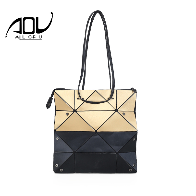 Bao Bao Bag Folding women deformable Shoulder Handbag BaoBao bag Fashion Casual Women Tote Handle Bag Geometric Shoulder Bag