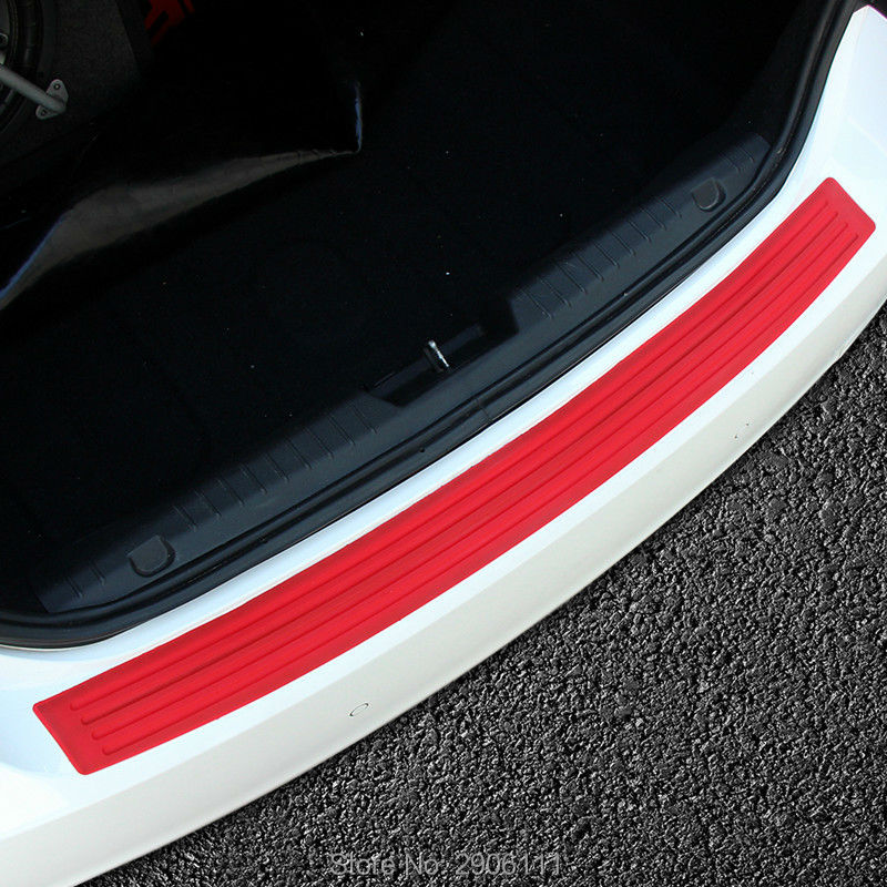 Car rear bumper protective decorative strips sticker for mazda 3 6 2 5 CX-5 CX-7 CX-3 323 ATENZA Axela accessories car styling mazd6 atenza taillight sedan car 2014 2016 free ship led 4pcs set atenza rear light atenza fog light mazd 6 atenza axela cx 5