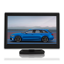 Brand New 5 Inch 480 x 272 Pixel TFT LCD Digital Panel Color Car Rear View Monitor + 170 Degree Night Vision Rear View Camera