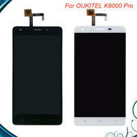 5pcs Lot For Oukitel K6000 Pro 100 Original LCD Display And TP Touch Screen Digitizer Assembly