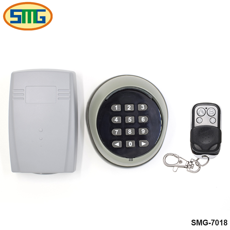 Serrure de porte contrôle d'accès clavier sans fil mot de passe interrupteur kit pour CAME DOORHAN DEA PUJOL FAAC porte moteur contrôle d'accès