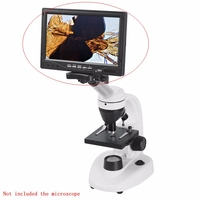 5 7 9 Inches HD LCD Displayer With WF10X Eyepiece For Stereo Or Biological Microscope Electronic