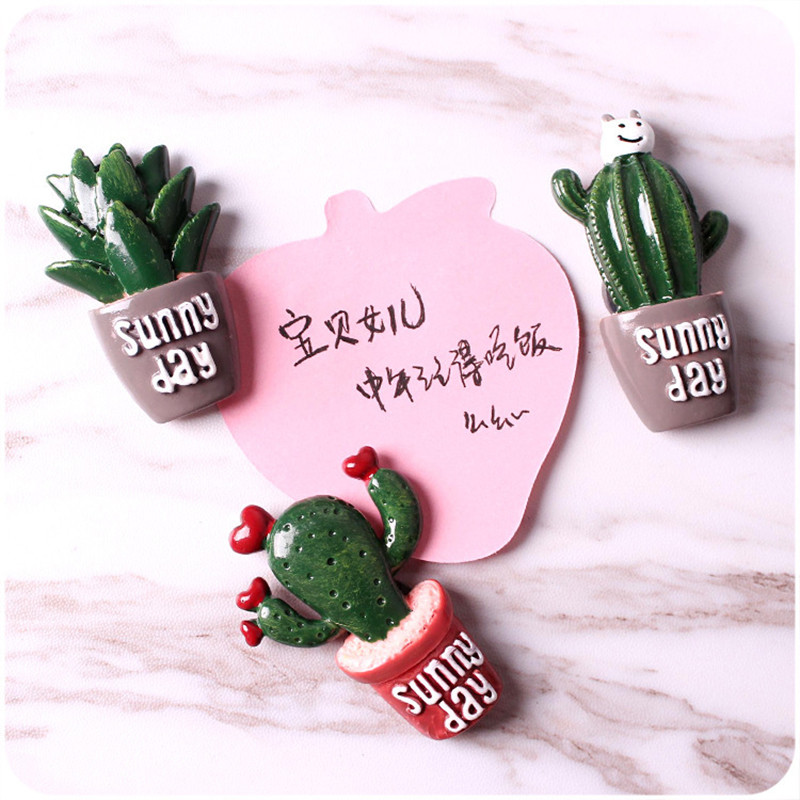 2-pcs-Cute-Cactus-Fridge-Magnets-Whiteboard-Sticker-Refrigerator-Magnets-Kids-Gifts-Home-Decoration-E (3)