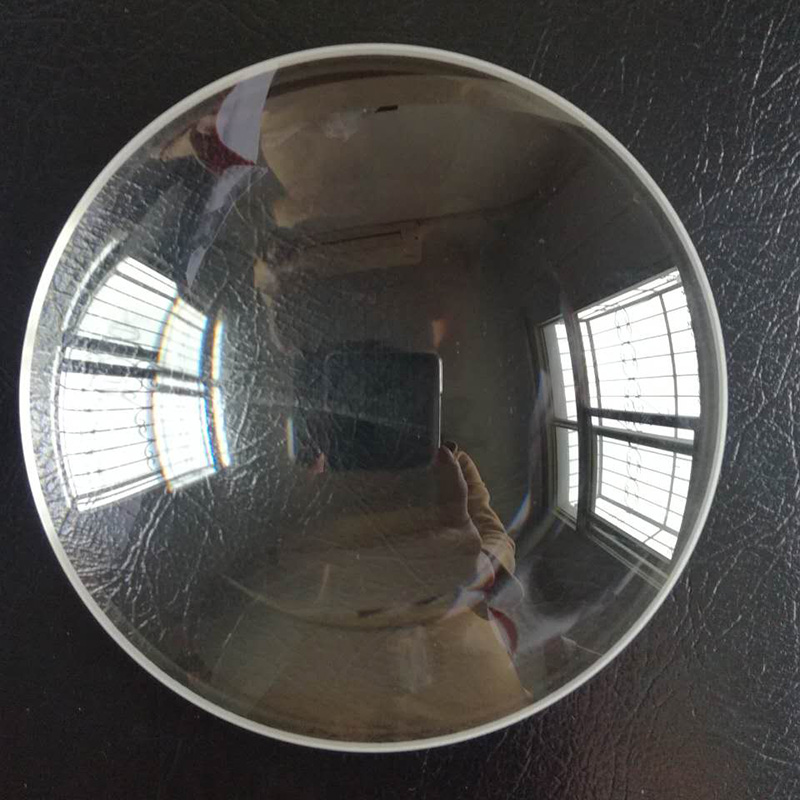 145mm Dia Large K9 Optical Glass Focal Length 385mm Large Plano Convex White Optics Glass Lens
