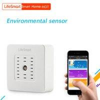 High Quality Smart Home Multi Sensor Temperature Humidity Detector Smart Remote Wireless Control Lifesmart Environment Sensor