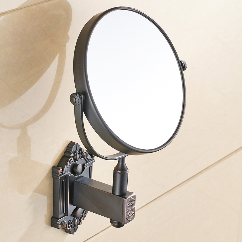Antique Br Oil Rubbed Bronze Bathroom Make Up Cosmetic Beauty Vanity Mirror Wall Mount In Bath Mirrors From Home Improvement On Aliexpress