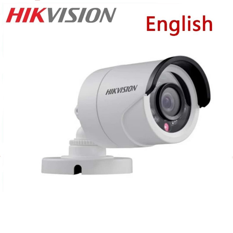 HIKVISION DS-2CE16D0T-IRF CVBS/AHD/TVI/CVI 2MP HD1080P IR Bullet Camera 20m IR Distance IP66 weatherproof CCTV Security Camera vertex impress lagune 4g gold