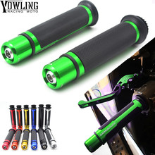 цена на Motorcycle Handlebars Bar Ends Grips Slider Handlebar Slugs Plug Handle Bar Sliders ZX6R ZX7R ZX10R ZX14R NINJA650R Z800 Z1000